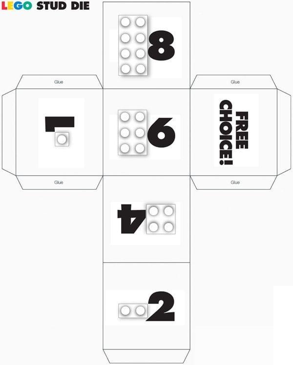 lego stud cube