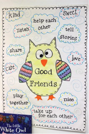 teaching kindergarten students to make friends