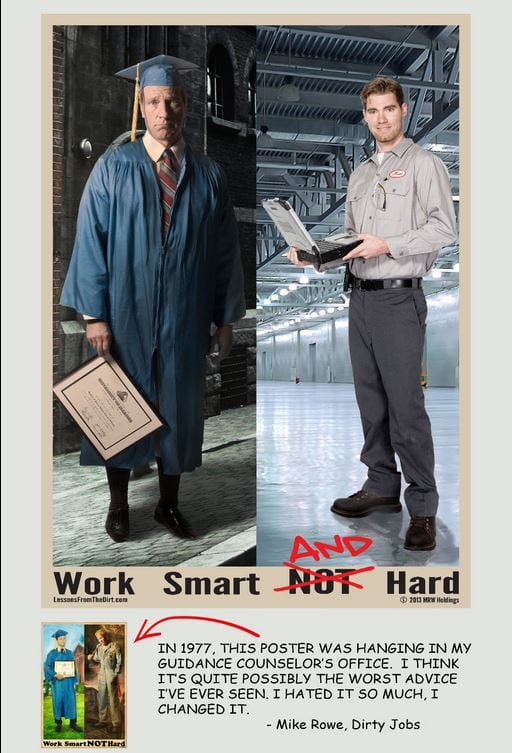 Work smart AND hard