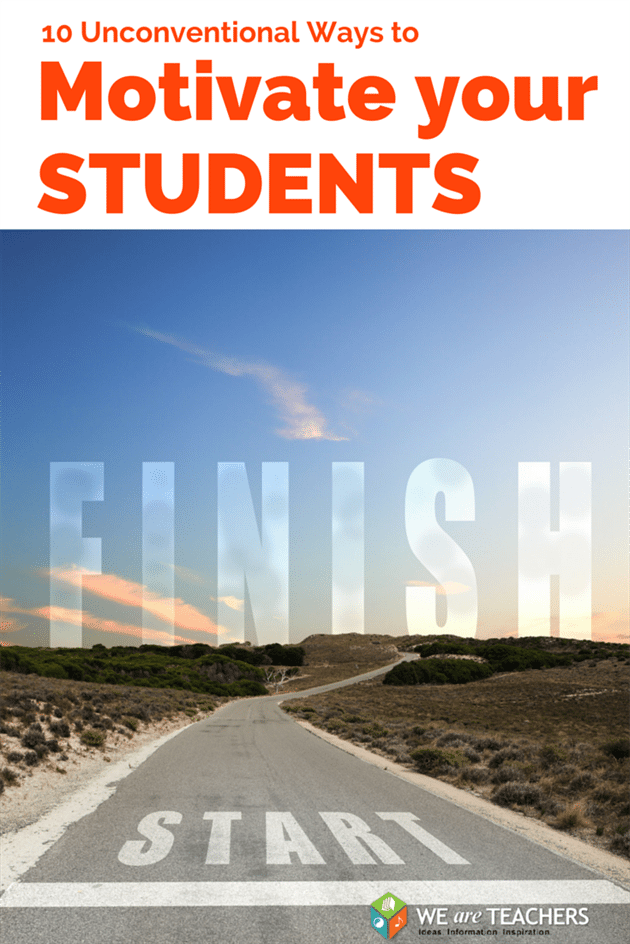 10 unconventional ways to motivate middle and high school students