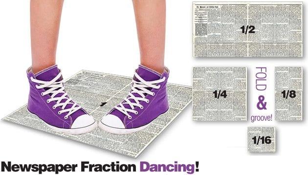 fraction games for kids newspaper