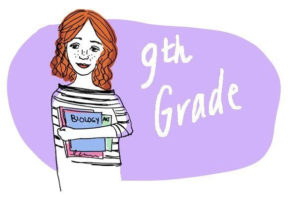 Fresh-faced ninth grade by Emily S. Hopkins