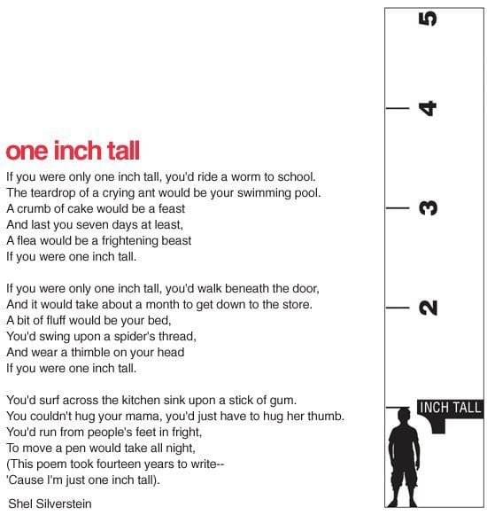 6 Surprising Math Activities You Can Do With Shel Silverstein Poetry