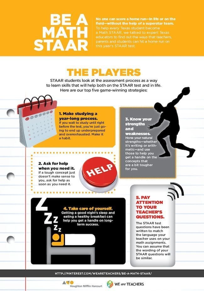 Be a Math STAAR poster players