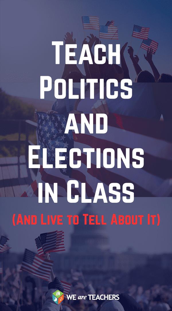 how to teach politics
