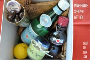 Pomegranate Spritzer Gift Box - Edible Gift Ideas From WeAreTeachers.com