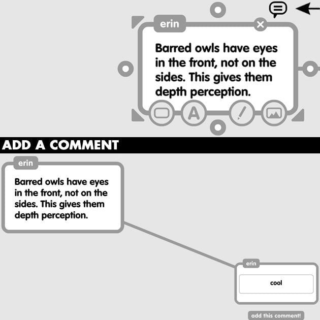 Popplet-Comments