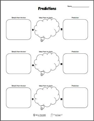 Free Printable: Predictions and Inferences - WeAreTeachers