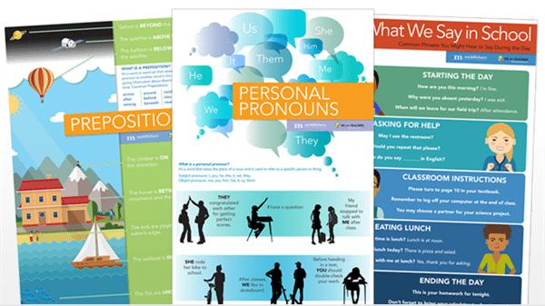 Pronouns, Prepositions, and Common Phrases
