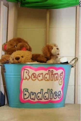 reading buddies teaching kindergarten