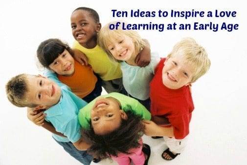 early learners love learning