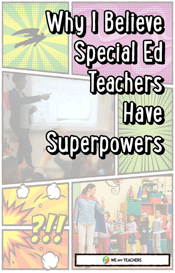 Special Ed Teacher Superpowers