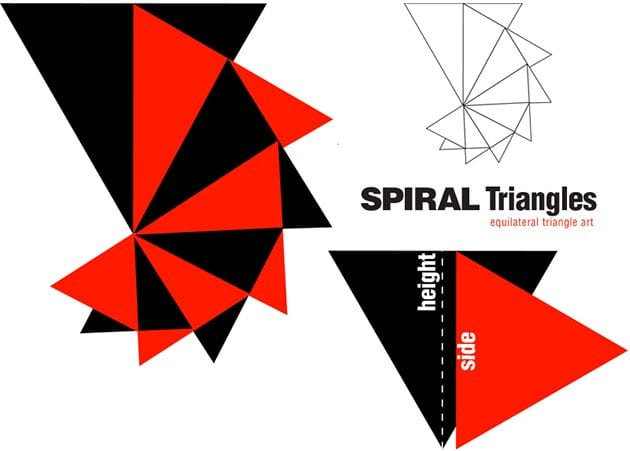 spiral-triangles