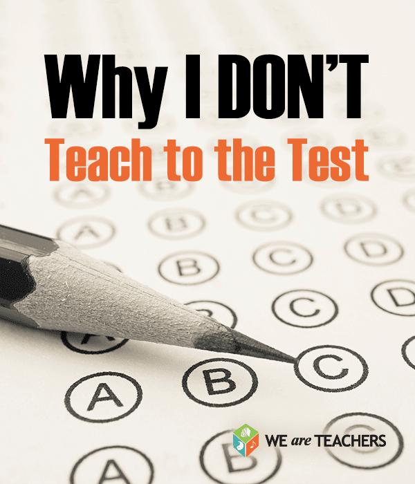 teach to test
