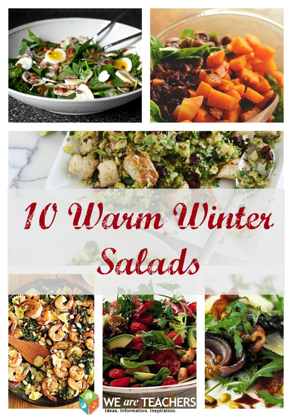 Ten Warm Winter Salads - WeAreTeachers