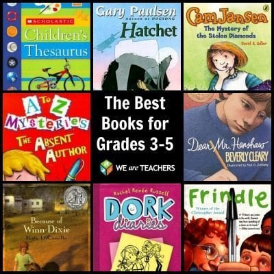 Building Your Classroom Library The Best Books For Grades 3 5