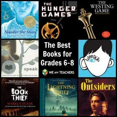 The Best Books for Grades 6-8