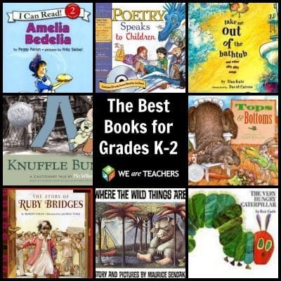 The Best Books for Grades K-2