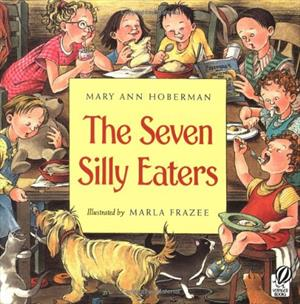 Book cover for The Seven Silly Eaters