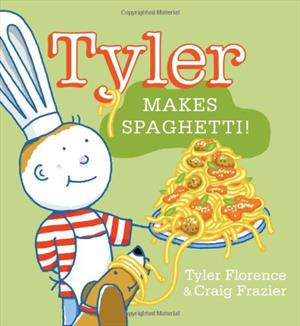 Book cover for Tyler Makes Spaghetti