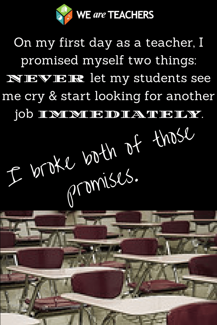 The Promise I Broke My First Year of Teaching