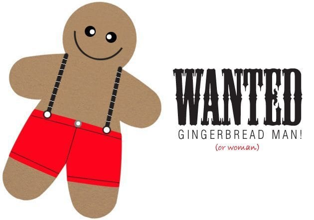 Wanted-Gingerbread