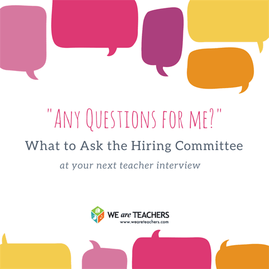 teacher interview questions