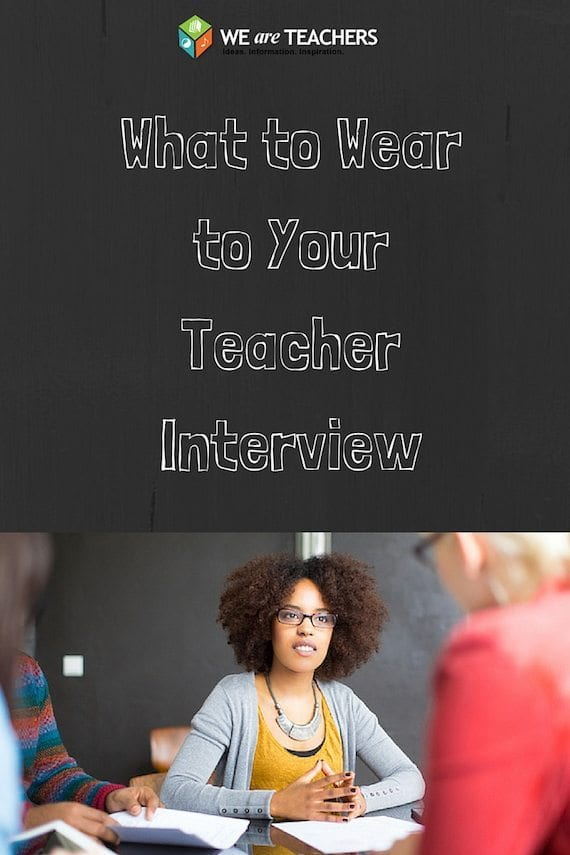 What to Wear to Your Teacher Interview