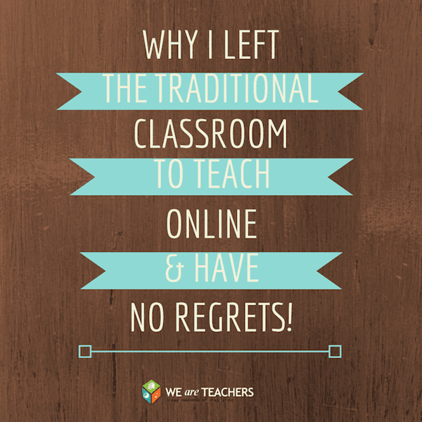 Why Online Teaching Is the Right Choice for Me