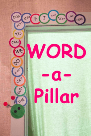 Track the sight words you teach with a word wall