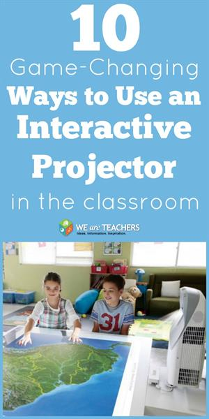 10 Game Changing Ways to Use an Interactive Projector in the Classroom