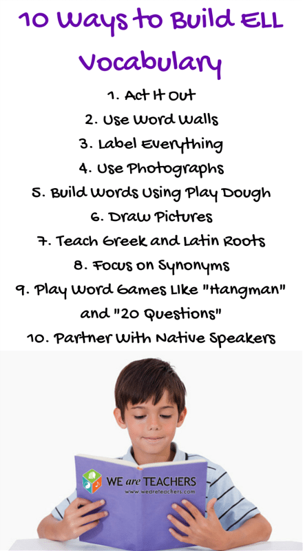 10 Ways to Build ELL Vocabulary