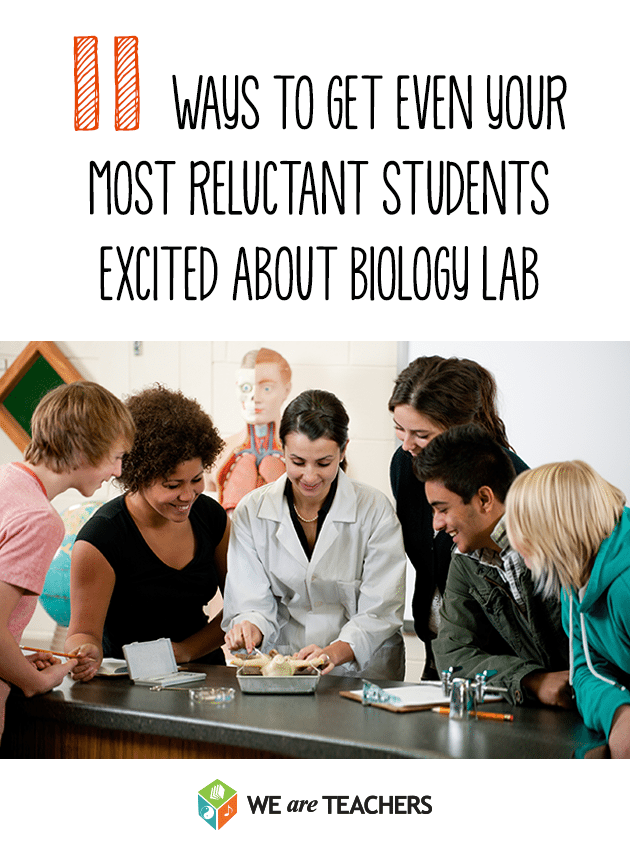 11 Ways to get even your most reluctant students excited about biology lab.