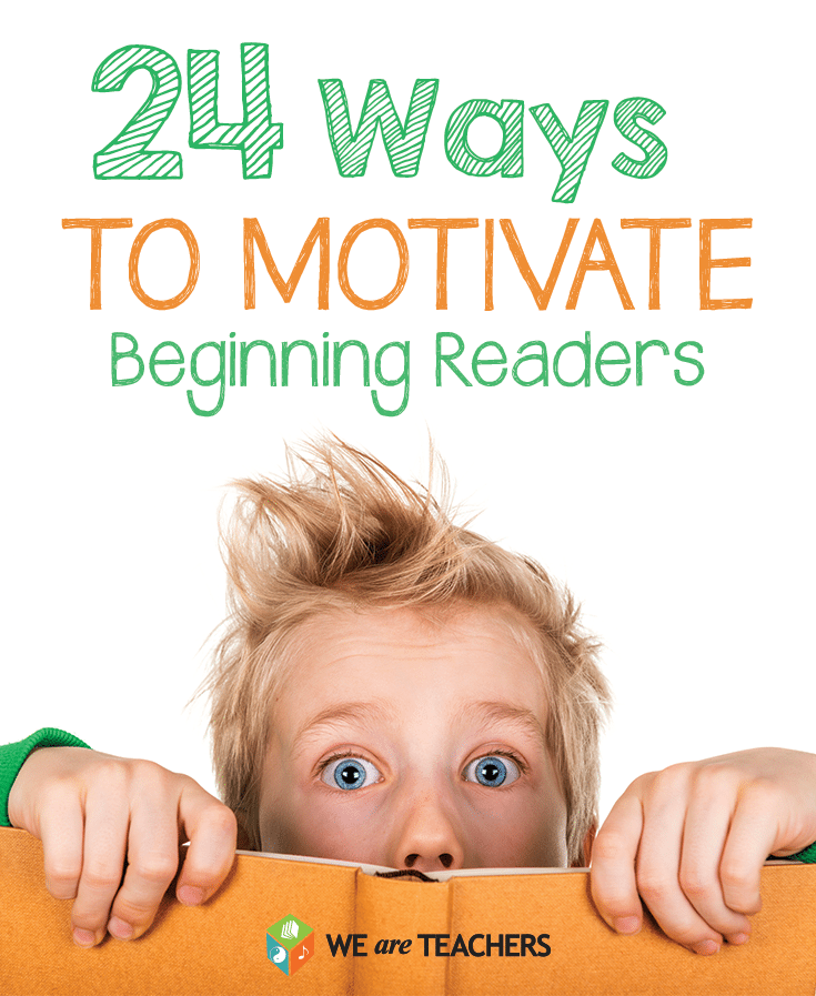24 Ways to Motivate Reluctant Readers