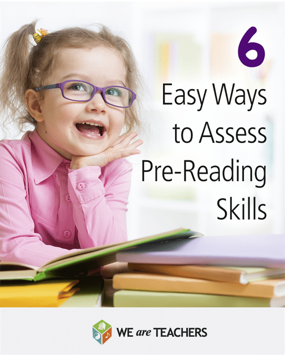 6 Easy Ways to Assess Pre-Reading Skills