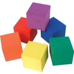 7-BlankFoamCubes