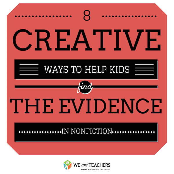 8 Ways to Help Kids Find Textual Evidence