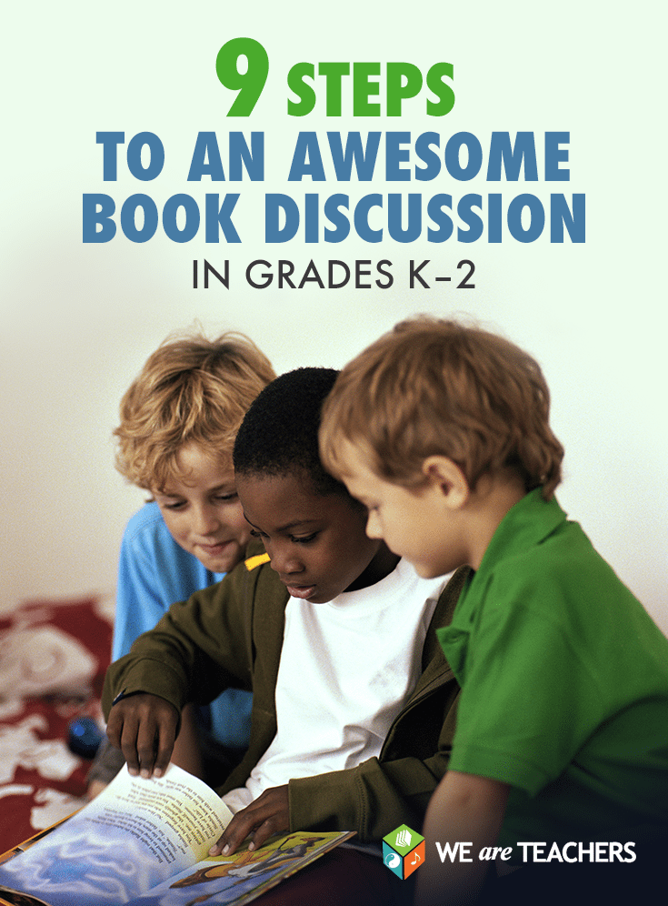 9 Steps to an Awesome Book Discussion in Grades K-2