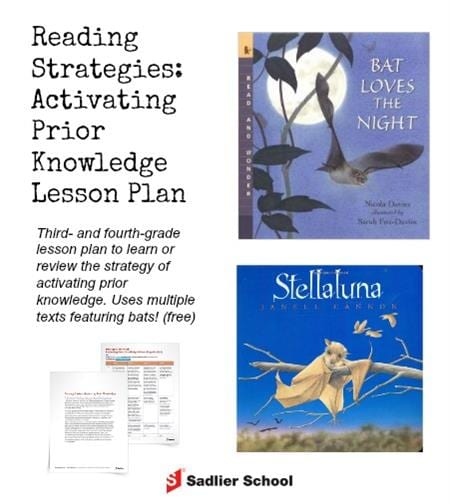 reading-strategy-activate-prior-knowledge-lesson-plan