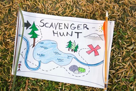 BING scavenger hunt