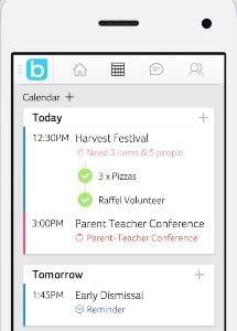 bloomz calendar