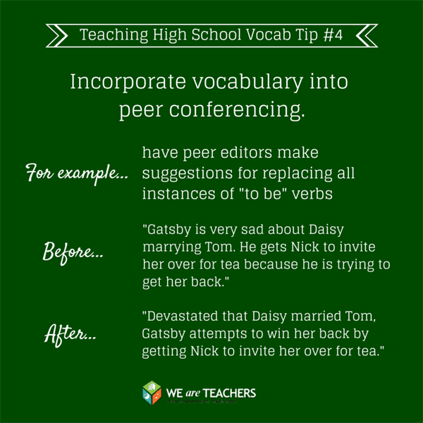 High School Vocab Tip #4