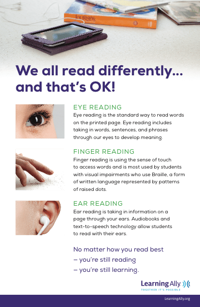 We All Read Differently And That's OK!