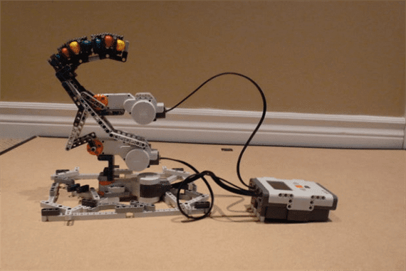 LEGO Mindstorms Turret Launcher