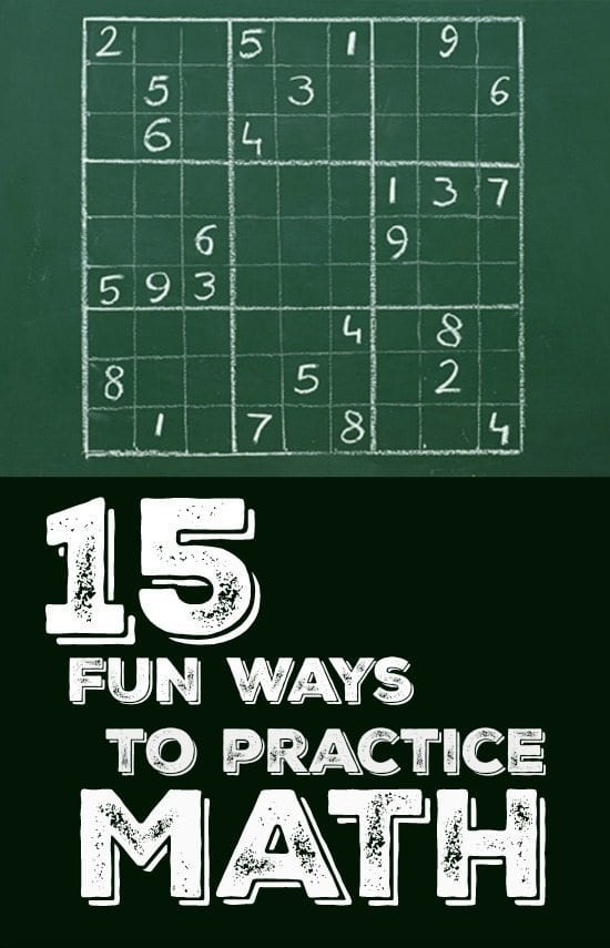15 Fun Ways To Practices Math Facts