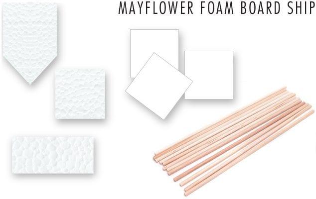Mayflower-Foam-Board-Ship