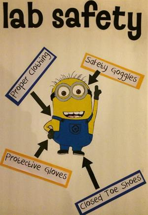 Minions: Use humor to help students feel comfortable in biology lab