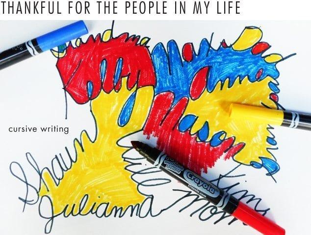 People-Cursive-Writing