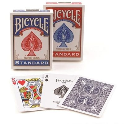 Playing card sets.