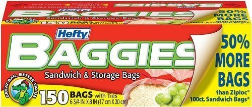 Sandwich bags for everything